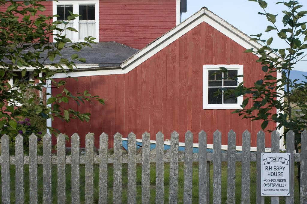Usa, Washington State, Oysterville, historic district, Espy House : Stock Photo