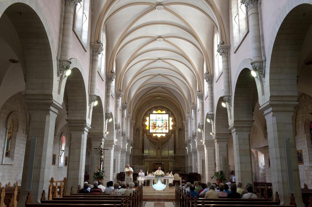 Stock Photo: 4292-64272 Israel, Bethleem, Santa Caterina church