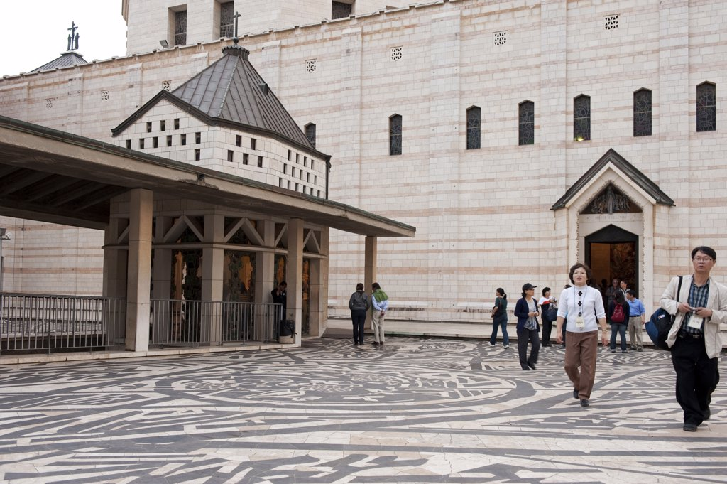 Stock Photo: 4292-64670 Israel, Galilee, Nazareth, Basilica of the Annunciation