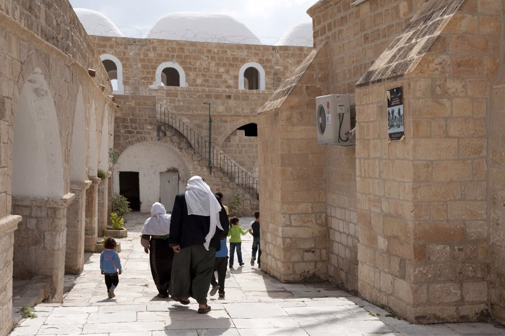 Israel, West Bank, Nebi Musa mosque : Stock Photo