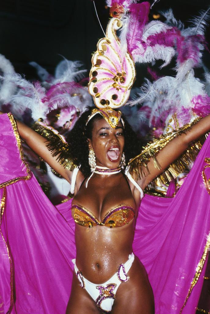 Stock Photo: 4292-66008 Brazil, Rio de Janeiro. Carnival
