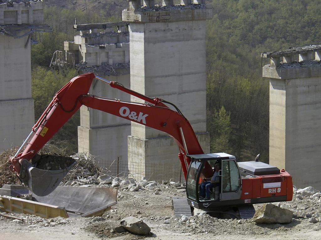 Stock Photo: 4292-69349 Excavator