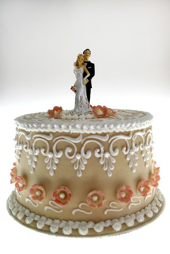 Stock Photo: 4292-73668 Wedding cake