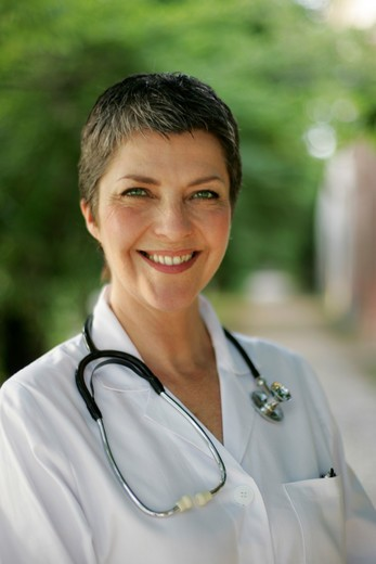Stock Photo: 4292-74667 Doctor's portrait