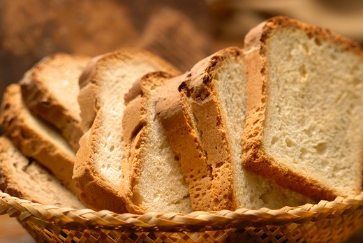 Stock Photo: 4292-76939 Bread slices