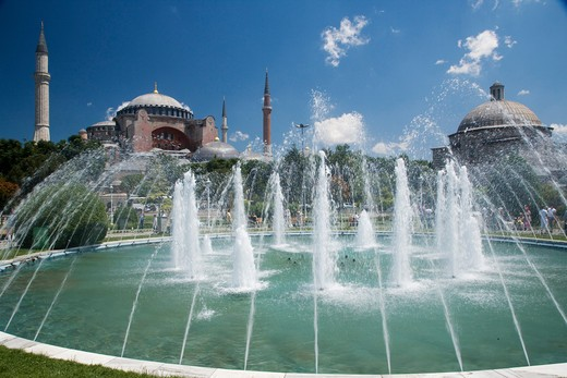 Stock Photo: 4292-79287 Turkey, Istanbul, Agia Sofia