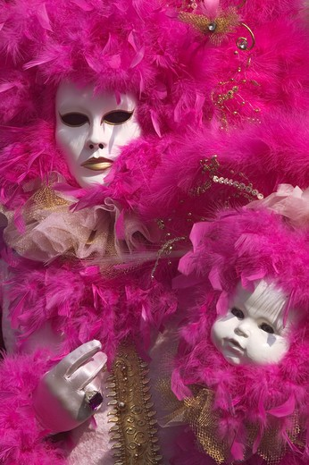 Stock Photo: 4292-83355 Italy, Veneto, Venice, carnival