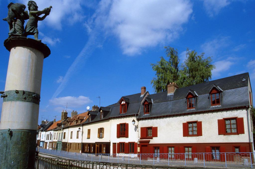 Stock Photo: 4292-83401 France,Amiens, Picardy, Saint Leu district