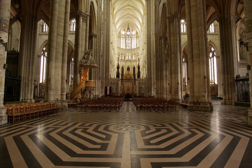 France, Amiens, cathedral : Stock Photo