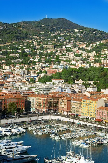 Stock Photo: 4292-83788 France, Cote d'Azur, Nice, the harbour