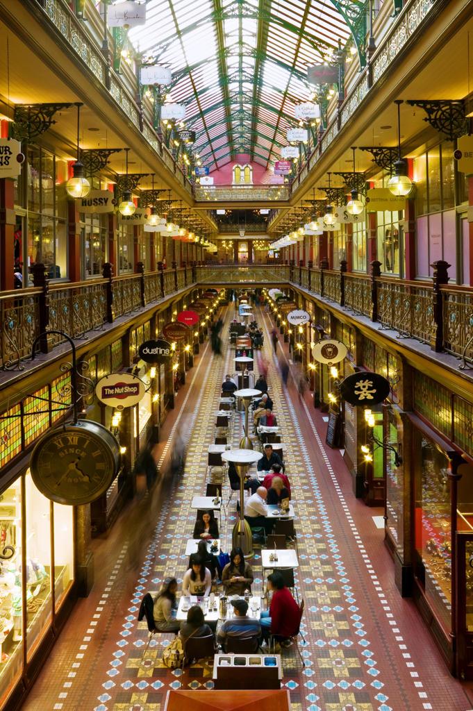 Australia, Sydney, Queen Victoria building : Stock Photo