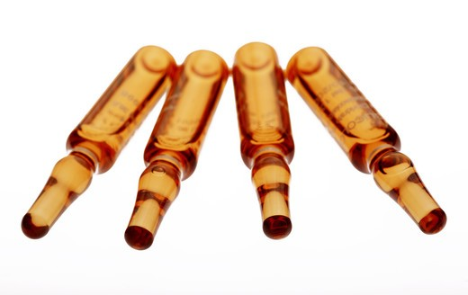 Stock Photo: 4292-85383 Medicine vials