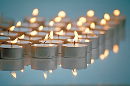 Stock Photo: 4292-89989 Candles