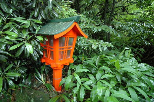 Japan, Buddhist Lantern. : Stock Photo