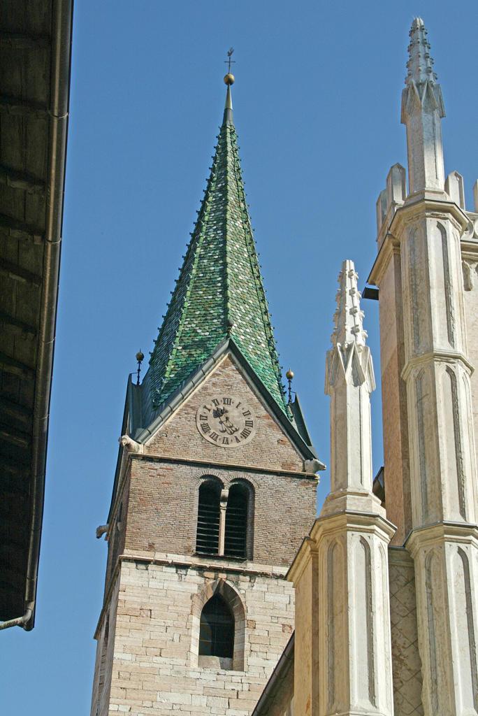 Trentino Alto Adige, Trento, St Pietro church : Stock Photo