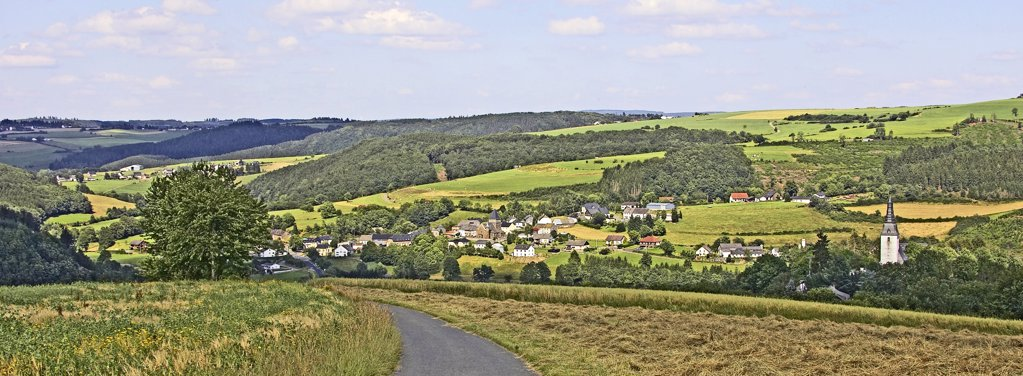 Belgium, Liege province, Weweler area, landscape : Stock Photo