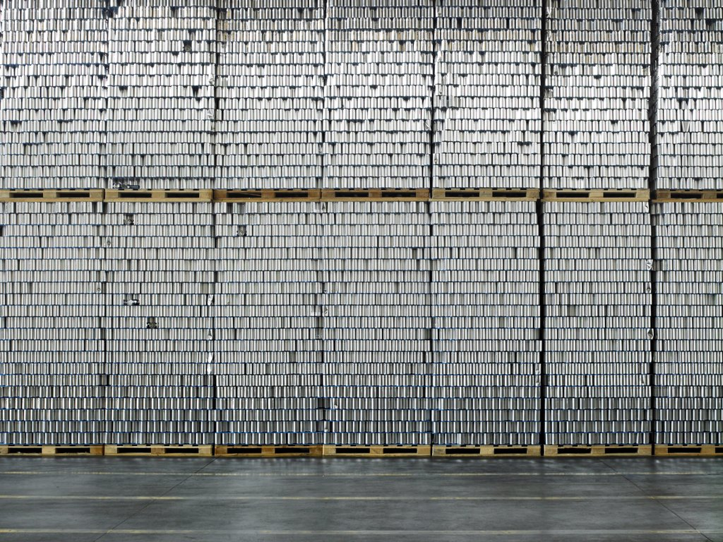 CanS factory : Stock Photo