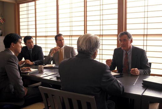 Businessmen meeting : Stock Photo