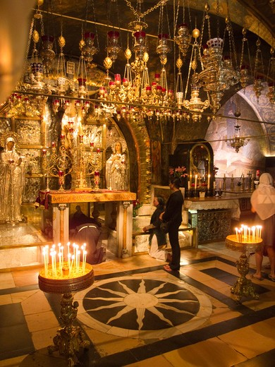Stock Photo: 4292-9831 Israel, Jerusalem, Church Of The Holy Sepulchre