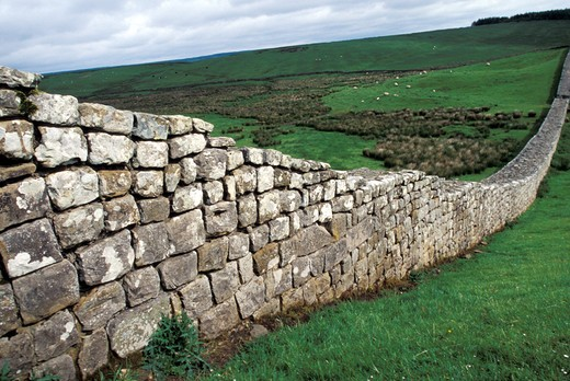 Northen England, Hadrian's wall : Stock Photo