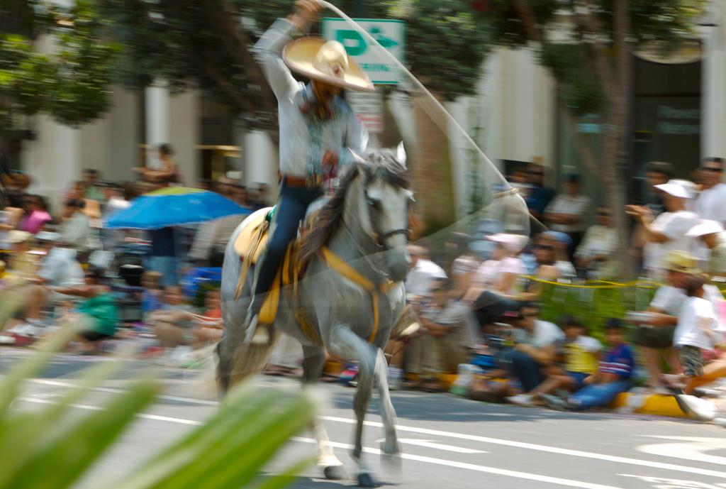 Cinco De Mayo Parade celebrated in Santa Barbara, California,USA : Stock Photo