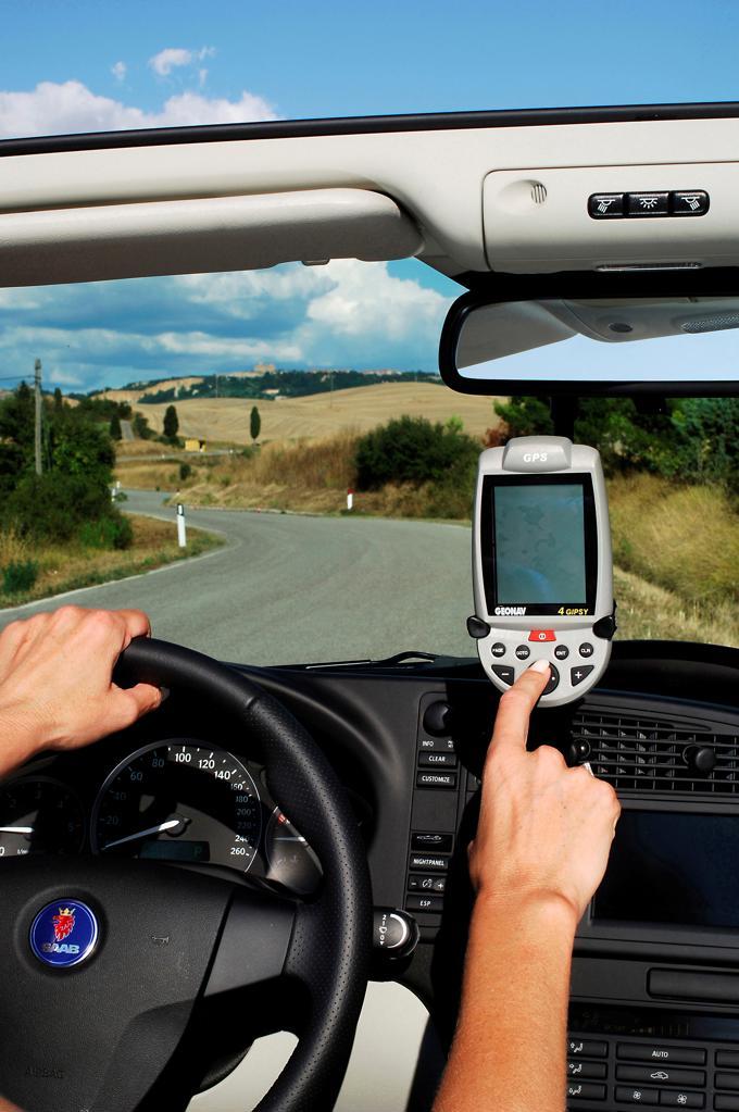 Stock Photo: 4292R-151118 Car GPS navigator