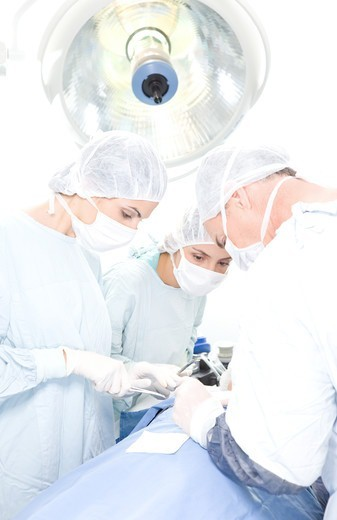 Surgeons at work : Stock Photo