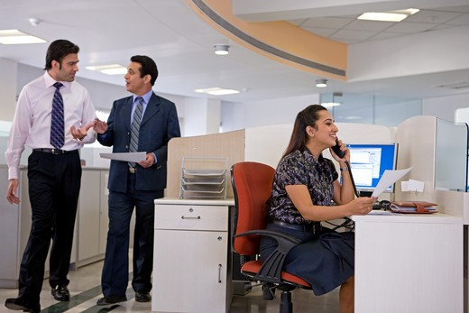 Stock Photo: 4303R-2355 Businesspeople at the office