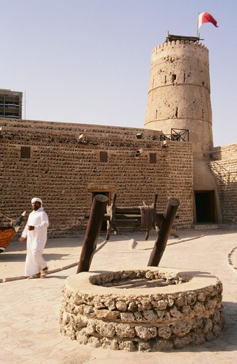 Stock Photo: 4304R-1271 UAE-Dubai - inside the Dubai museum