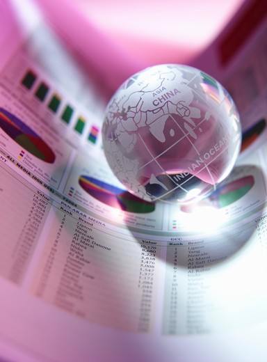 Stock Photo: 4304R-3277 World Stock Market Report