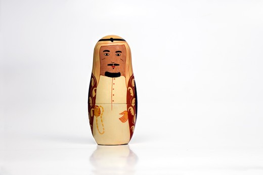 Stock Photo: 4304R-7776 Male arab matryoshka doll