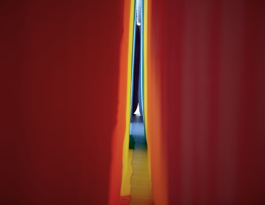 Stock Photo: 4306R-11569 A red cloth, close-up.