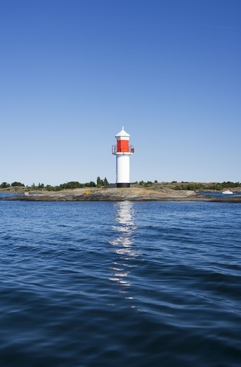 Stock Photo: 4306R-11802 A lighthouse, Sweden.