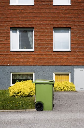 A block of flats, Trollhattan, Sweden. : Stock Photo