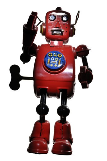 A robot. : Stock Photo