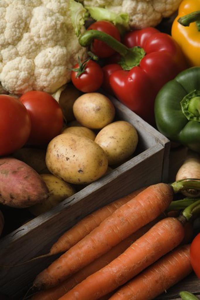 Fresh vegetables, Sweden. : Stock Photo