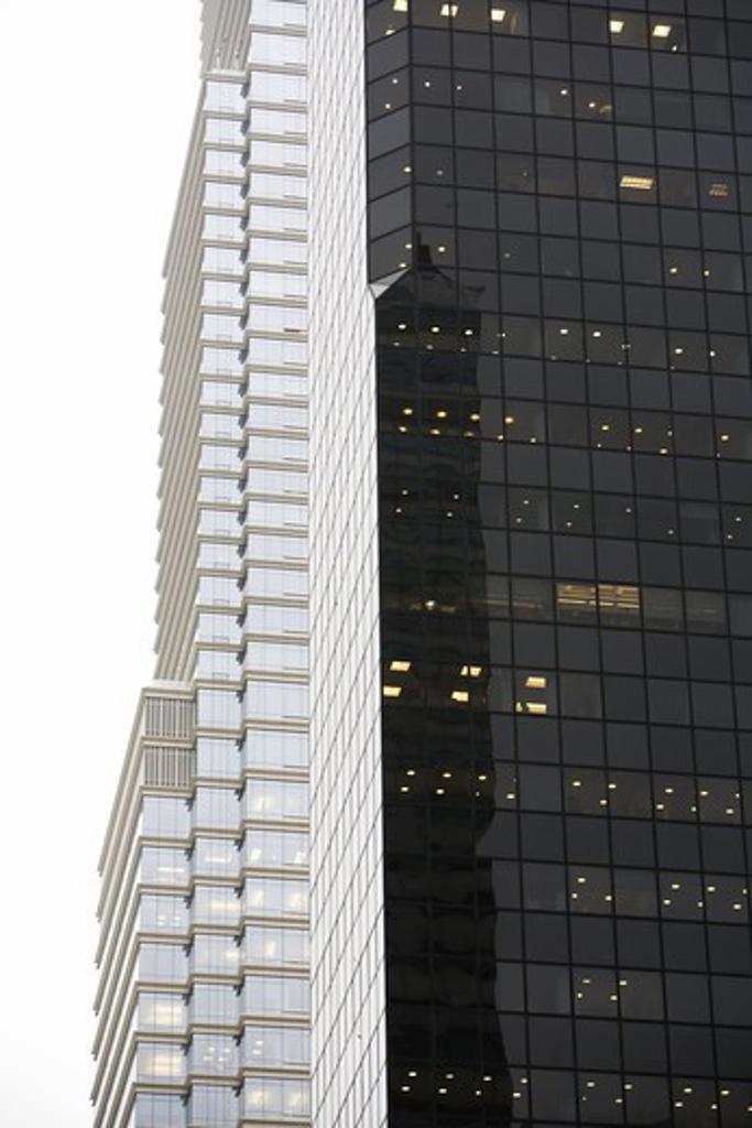 Stock Photo: 4306R-17370 Skyscraper, New York, USA.