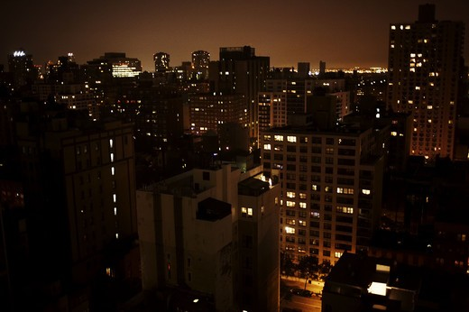 Stock Photo: 4306R-18854 View of New York City, USA.