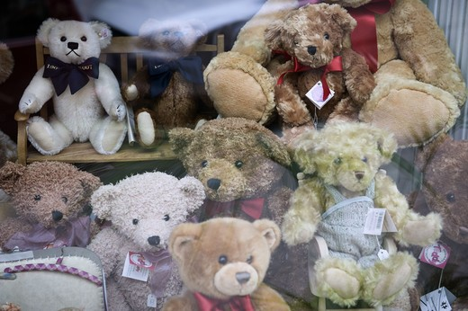 Stock Photo: 4306R-19711 Teddybears.