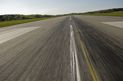 Stock Photo: 4306R-22240 Runway