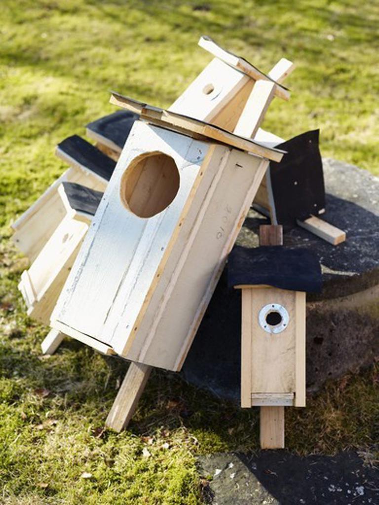 Stock Photo: 4306R-26472 Bird houses