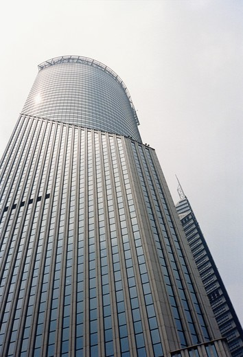 Stock Photo: 4306R-6910 Low angle view of skyscraper
