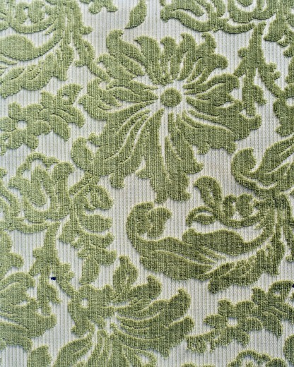 Stock Photo: 4306R-9153 Patterned wallpaper, close-up.