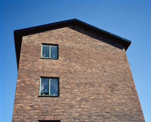 Stock Photo: 4306R-9835 A brick house.