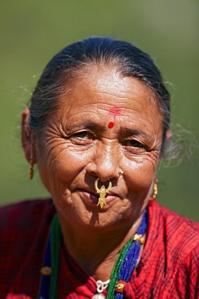 Nepali Woman : Stock Photo