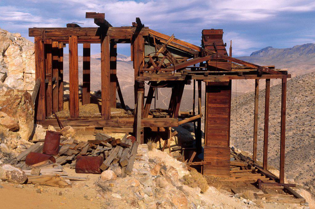 Abandoned Mine : Stock Photo