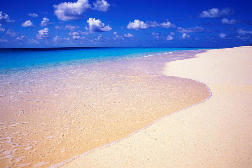 Stock Photo: 4323-278 Pristine Beach