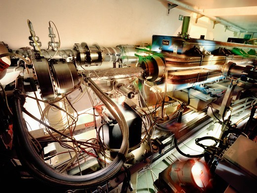 Stock Photo: 4325-304 Bending Magnet Installed on the ESRF Electron Storage Ring