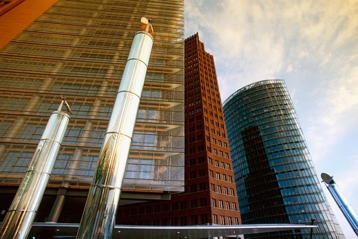 The Rebirth of Potsdamer Platz, Berlin : Stock Photo