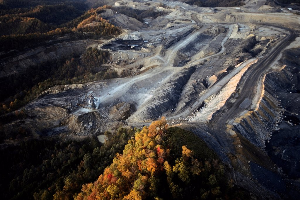 Strip Mine in Kentucky : Stock Photo